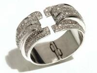 Bracelet platine R.Templier