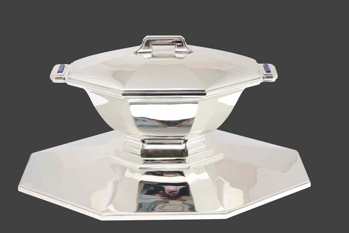 Centre de table templier for Centre de table argent