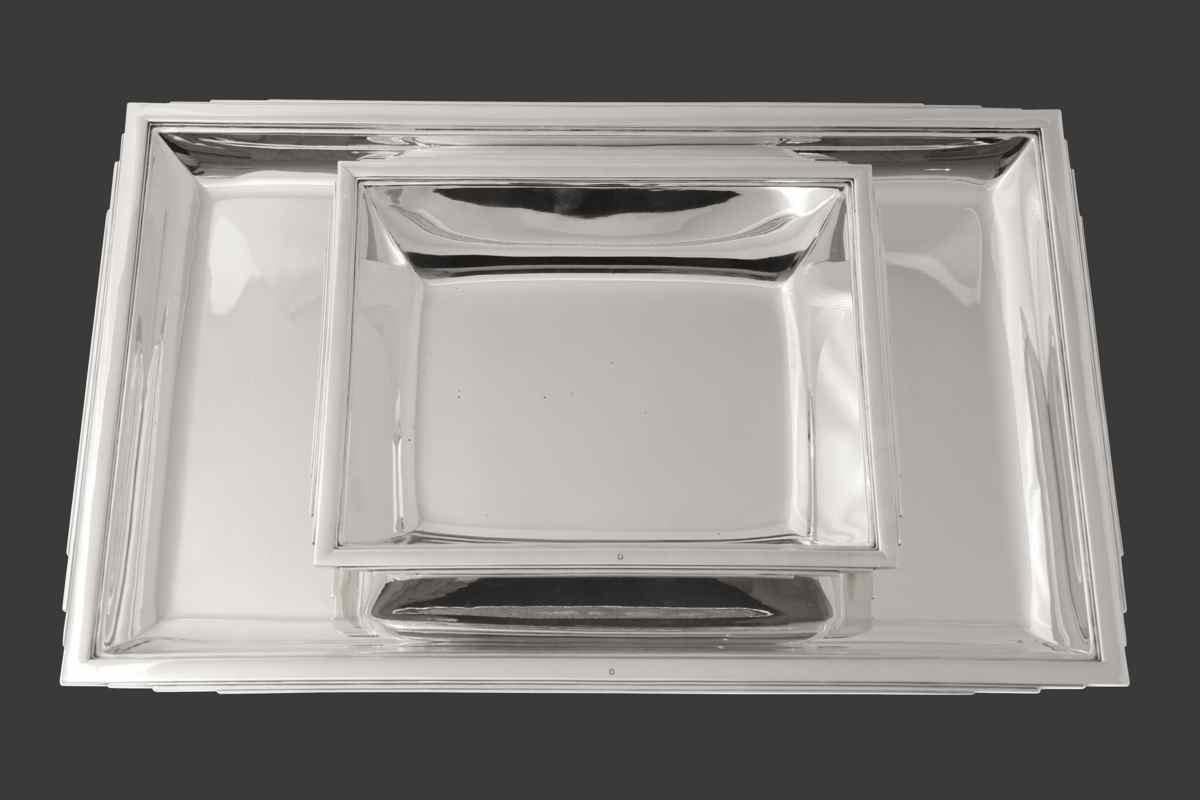 Plateaux templier for Service de table rectangulaire